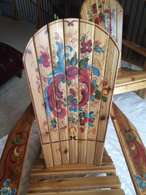 "Rosemal Adirondack ""Sister"" Chairs"