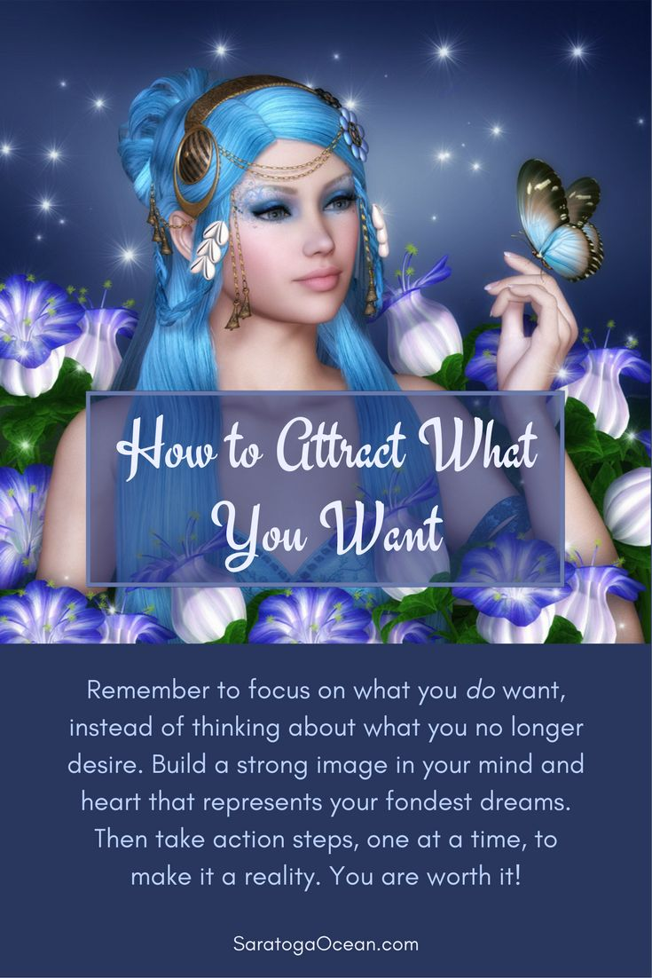 The Law of Attraction is activated based on emotional vibration and desire. If your emotions are tied up in thinking about what you don't want, you are likely to attract more of the same. Shift your focus and energy onto a vision of what you do want. Embe