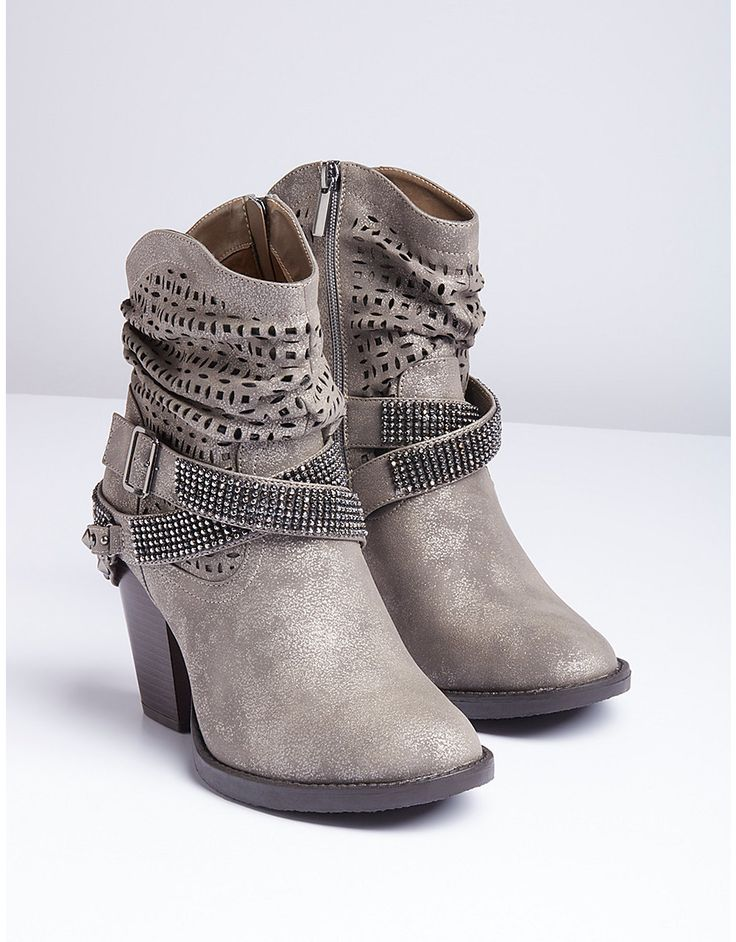 Lane Bryant specializes in comfortable wide width boots for every occasion. Our warm winter booties will protect and support you on the go. Look for faux leather boots to make more than just a fashion statement. When you pair Lane Bryant boots with a fashionable plus size belt, you'll be comfortable and prepared for anything that comes your way.