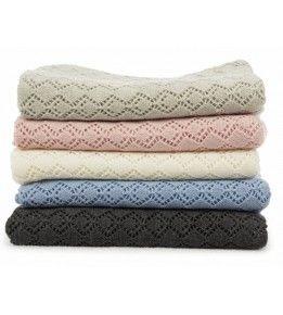 Dimples Heirloom Merino Blanket