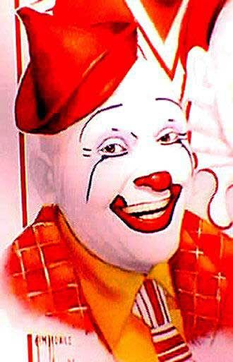 Frosty Little - Famous Clowns http://famousclowns.org/famous-clowns/frosty-little/