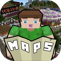 Maps for Minecraft PE (Minecraft Maps)' van NuApps