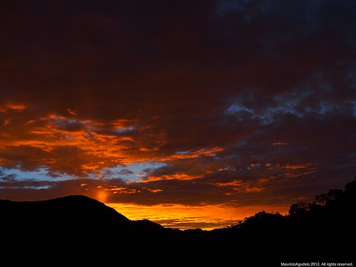 Amanecer Cordillera Central. Sonsòn Antioquia Colombia