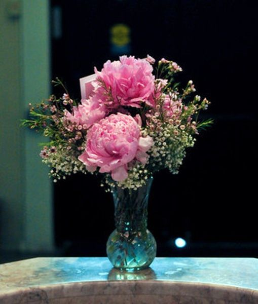 17 Best Images About Peonies Wedding Centerpieces On Pinterest
