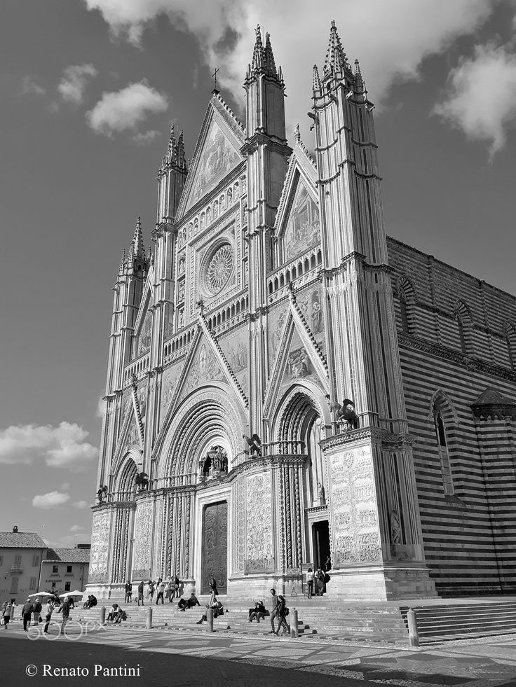 Duomo di Orvieto. - Orvieto Cathedral (Umbria, Italy) April 2017.