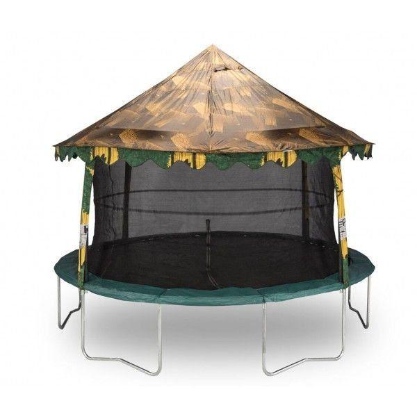 14' Trampoline Camo Canopy