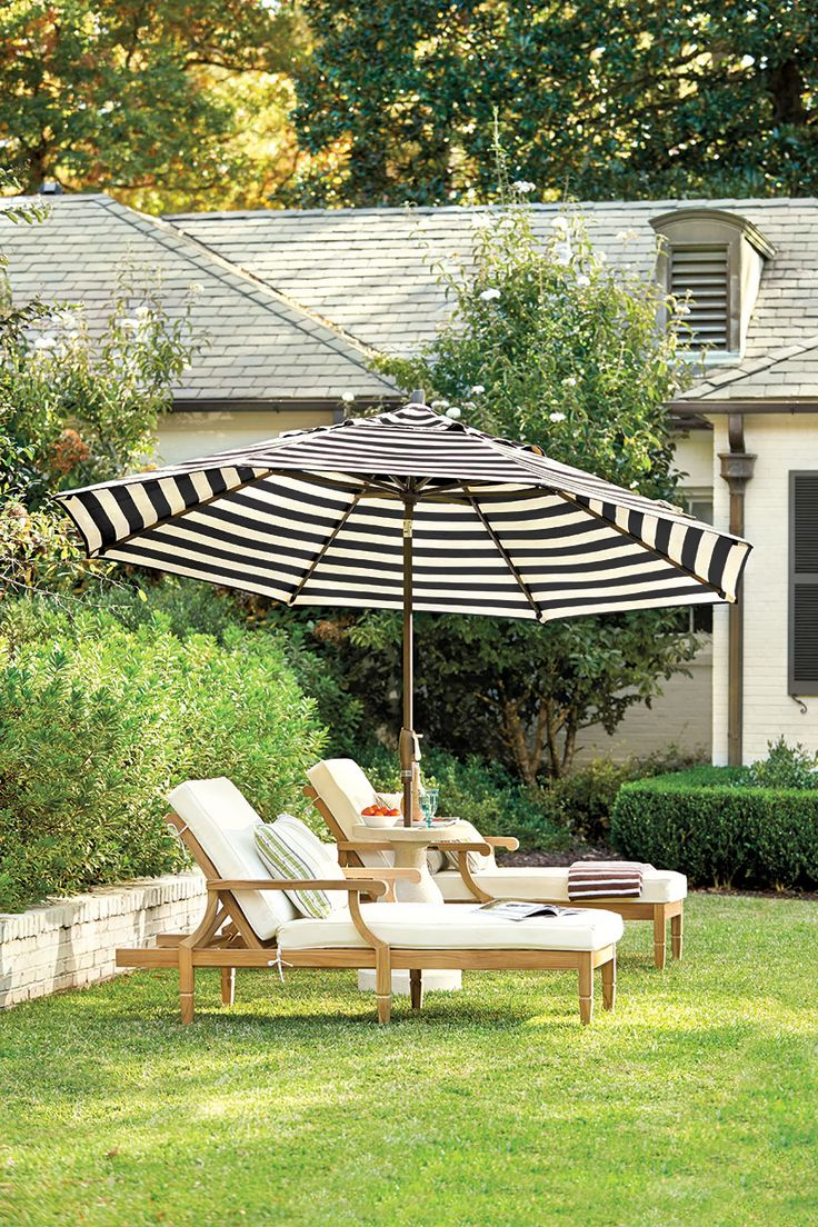 10 Ways to Make a Big Outdoor Statement - 25+ Best Ideas About Outdoor Patio Umbrellas On Pinterest Patio