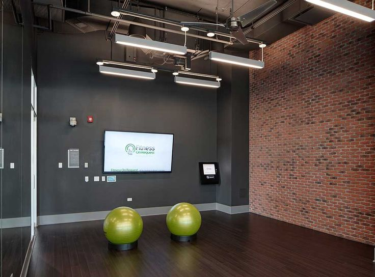 Fitness on demand studio at amli lofts luxury south loop