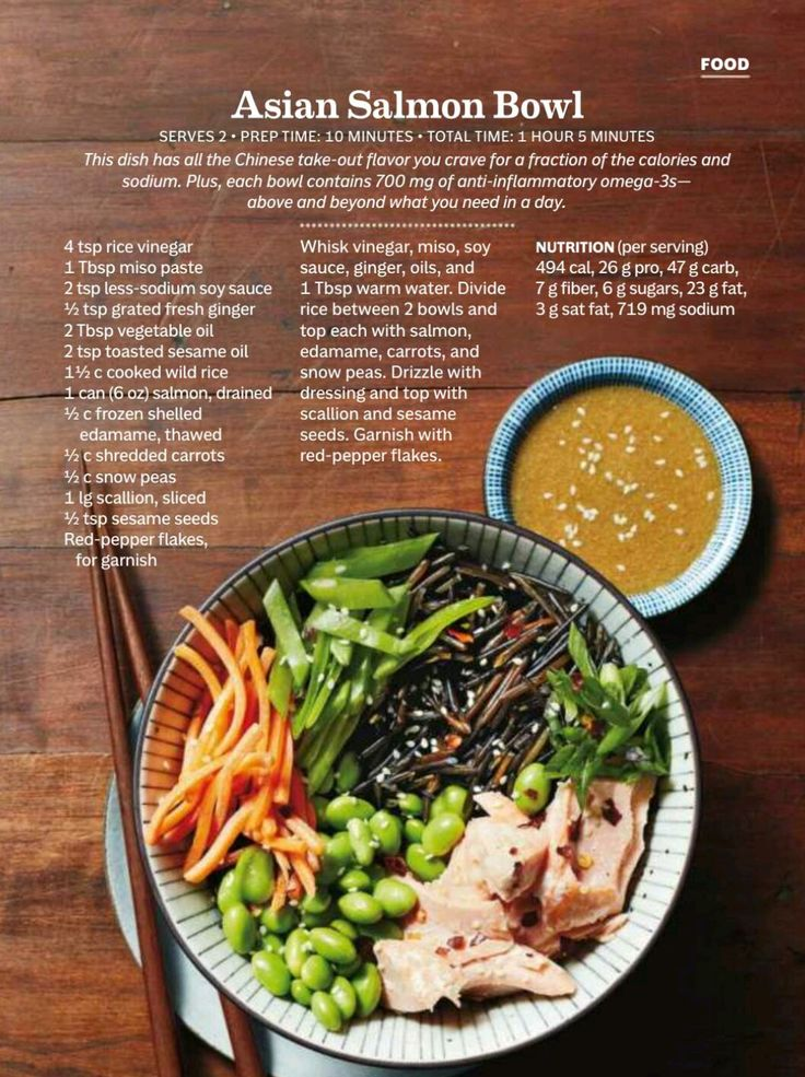 67 best magazine articles images on pinterest magazine articles a asian salmon bowl source prevention february 2017 forumfinder Images