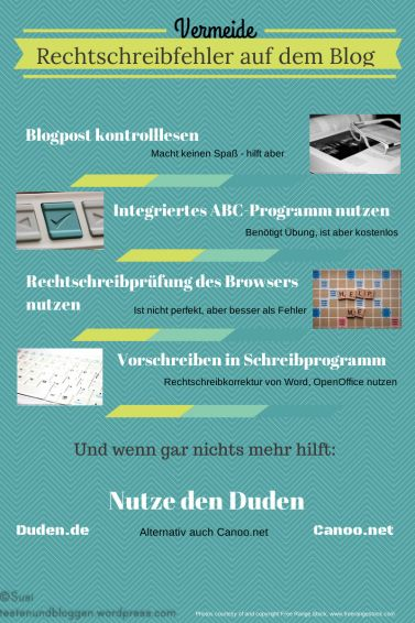 """""""Vermeide Rechtschreibfehler auf demBlog"""""""