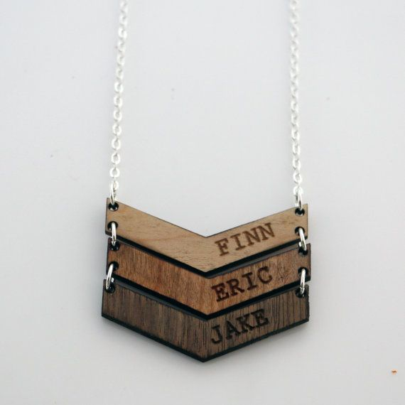 wooden keyring father's day