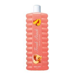 Habfürdő friss őszibarackillattal (1000 ml)