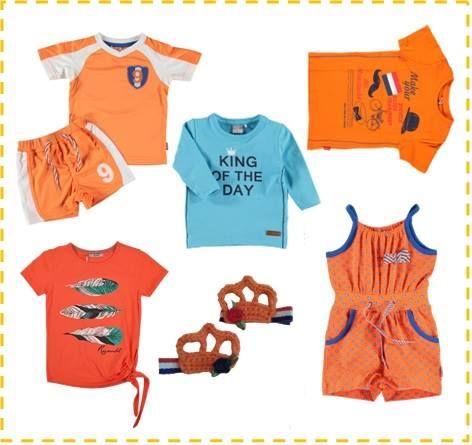 Onze collectie oranje kleding, super leuk voor de koningspelen!  www.blauwlifestyle.nl