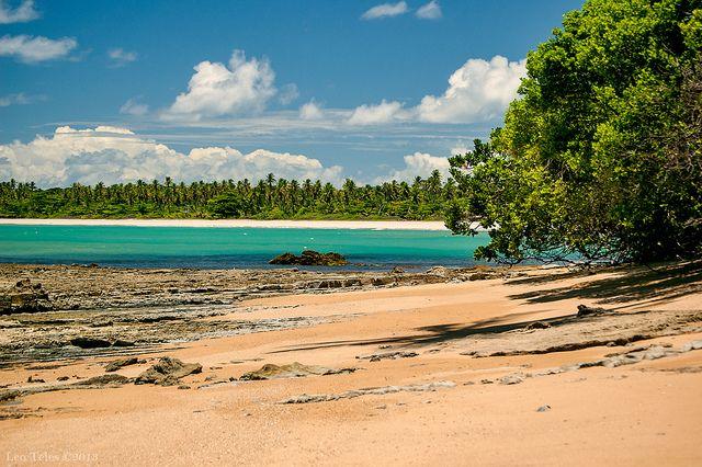 Piscinas naturais de Moreré, Ilha de Boipeba – BA