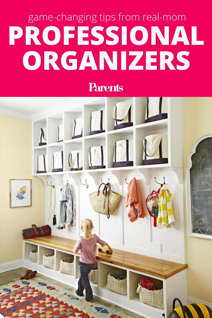 Four professional organizer moms share their secrets for controlling clutter and managing the unique breed of mess that families make.
