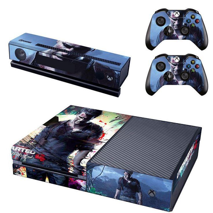 Uncharted 4 Xbox One Skin