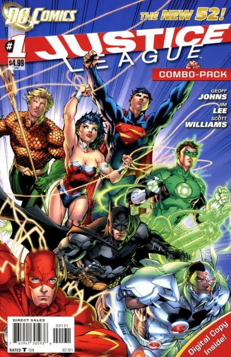 JUSTICE LEAGUE #1 Combo Pack