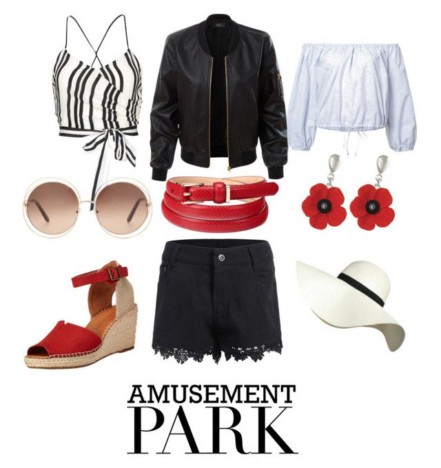 """""""Rollercoaster Ride"""" by eunoxia on Polyvore featuring Alice + Olivia, Sea, New York, LE3NO, Aspinal of London, Pilot, Chloé, amusementpark and 60secondstyle"""