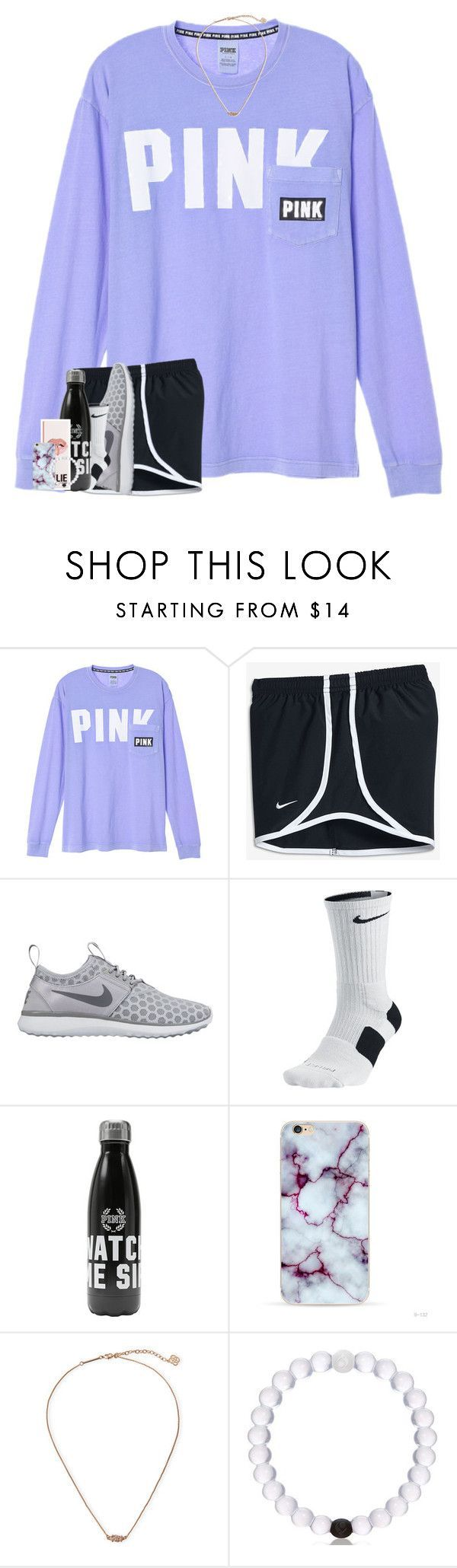 skyzone today !! by theblonde07 ❤ liked on Polyvore featuring NIKE and Kendra Scott