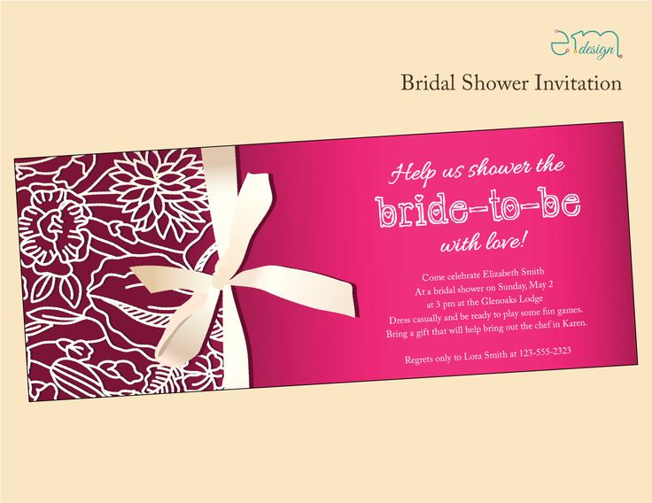 18 best Bridal Shower Bachelorette Party Invitations images on – Bridal Shower and Bachelorette Party Invitations