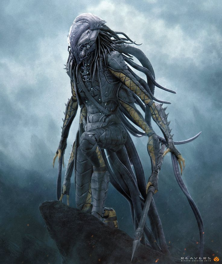 Vintage Science Fiction Wallpaper Google Search: 4 Armed Creature - Google Search