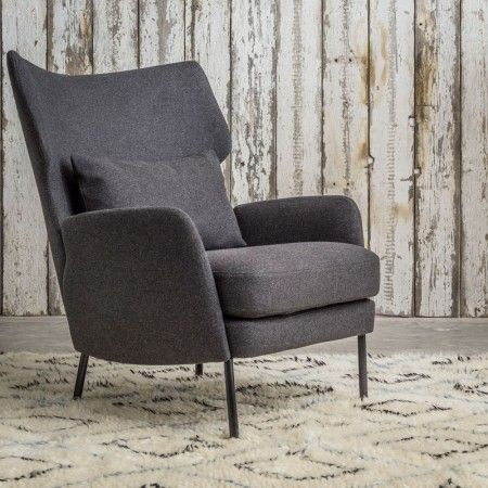 Joseph Armchair & Footstool - Contemporary Styles - Our Sofa Collection…