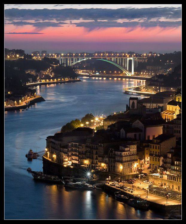 Oporto, Porto, Portugal I'll be back in JUNE. Can't wait to see the city again…. <3