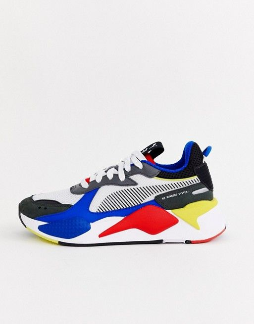 3954677c099e24 Puma Rs-X Toys blue and red sneakers