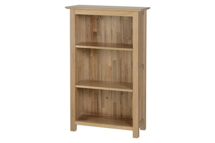 AFOBI New oak 3'0 narrow bookcase