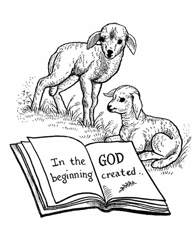 here we have a collection of coloring pages to help you teach the genesis story of the creation