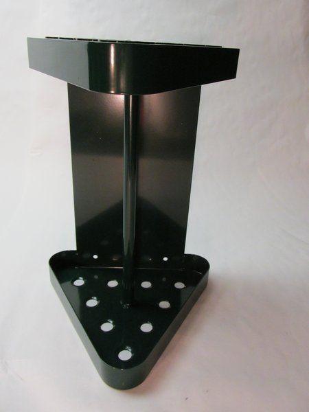 Billiards Pool Cue Wall Rack Triangle   Metal | Just Pool Cue Racks.com