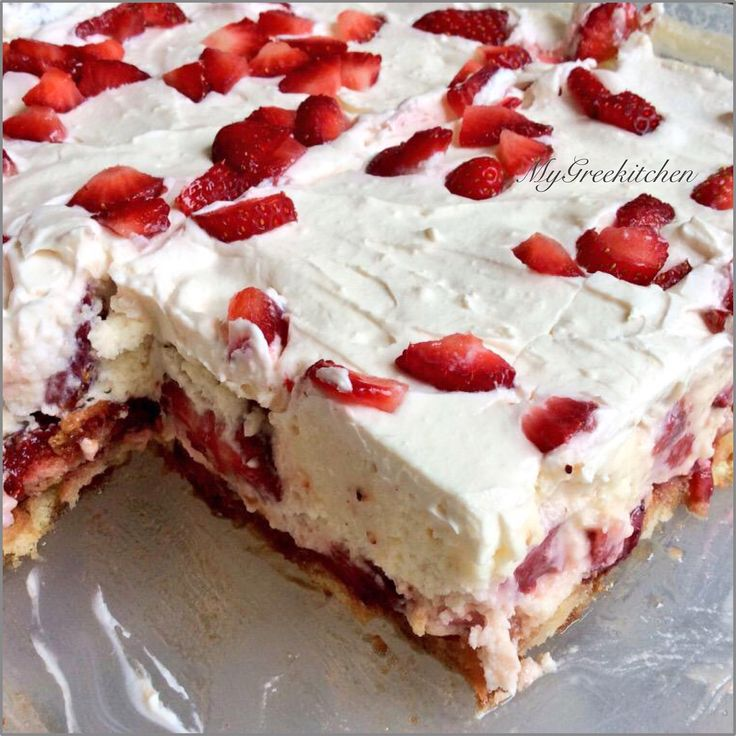 Foodista | Recipes, Cooking Tips, and Food News | No Bake Strawberry Shortcake