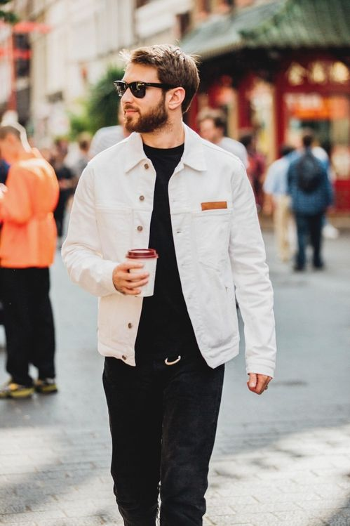 Street style à la Fashion Week homme printemps,été 2019 de Londres