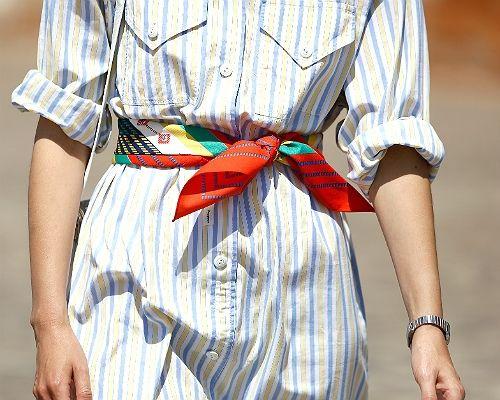 Streetstyle: Accessoires - So setzt ihr Tücher & Taschen in Szene - BRIGITTE