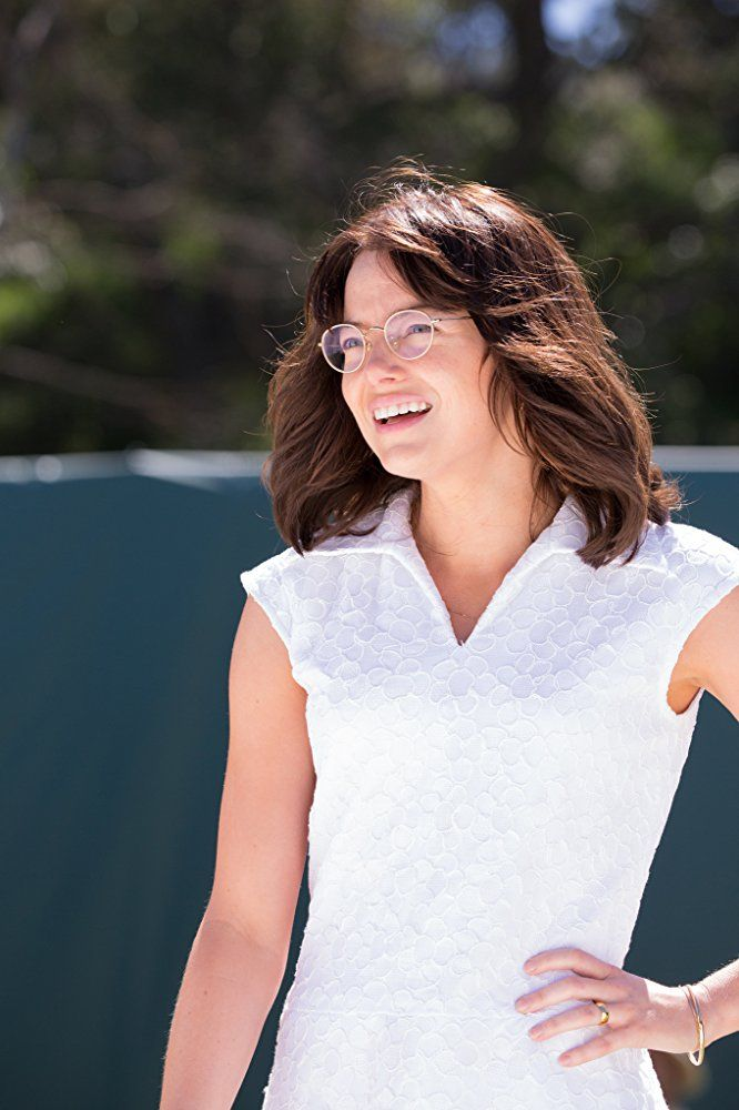 Directed by Jonathan Dayton, Valerie Faris.  With Emma Stone, Andrea Riseborough, Steve Carell, Elisabeth Shue. The true story of the 1973 tennis match between World number one Billie Jean King and ex-champ and serial hustler Bobby Riggs.