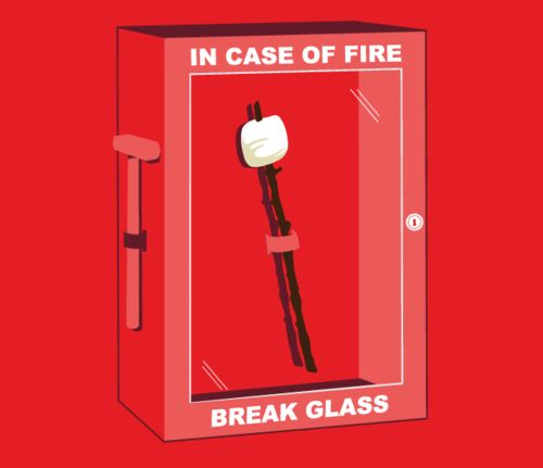 funny-In-Case-Of-Fire-Marshmallow