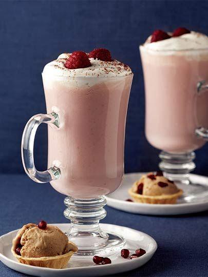 Kırmızı meyveli sıcak çikolata Tarifi - İçecekler Yemekleri - Yemek Tarifleri