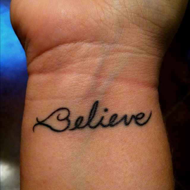 If I Decide To Get A Tattoo Someday