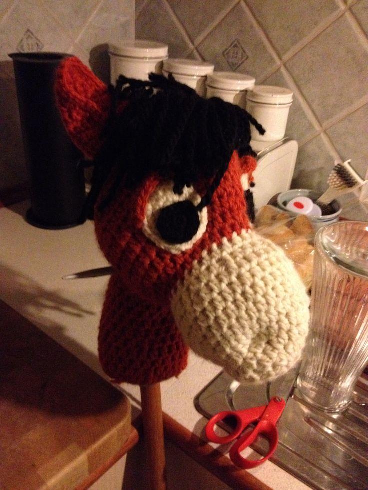 Kæphest til min nevø  #kaephest #haekling #hobbyhorse #crochet