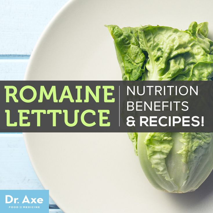Romaine Lettuce Nutrition, Benefits and Recipes http://www.draxe.com #holistic #health #natural