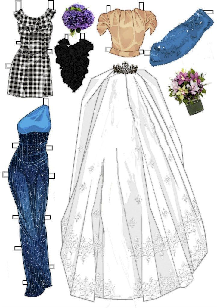 Ipd Clothes Paper Dolls Pinterest Kl Der