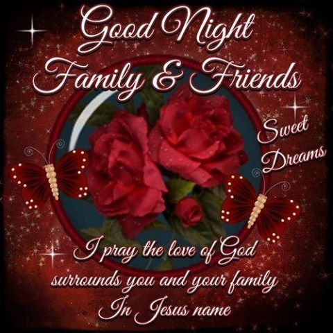 Night Blessings   Good Night, God Bless!!   daily