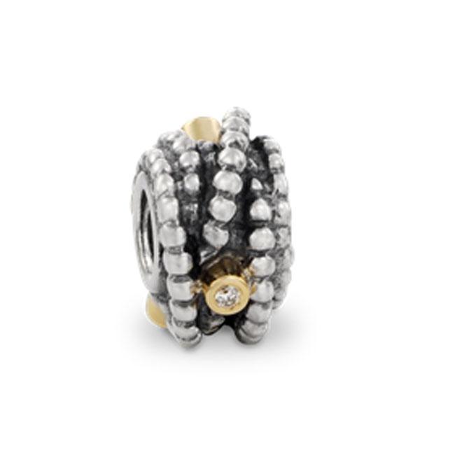Pandora Entangled Beauty with Diamond and 14K Charm