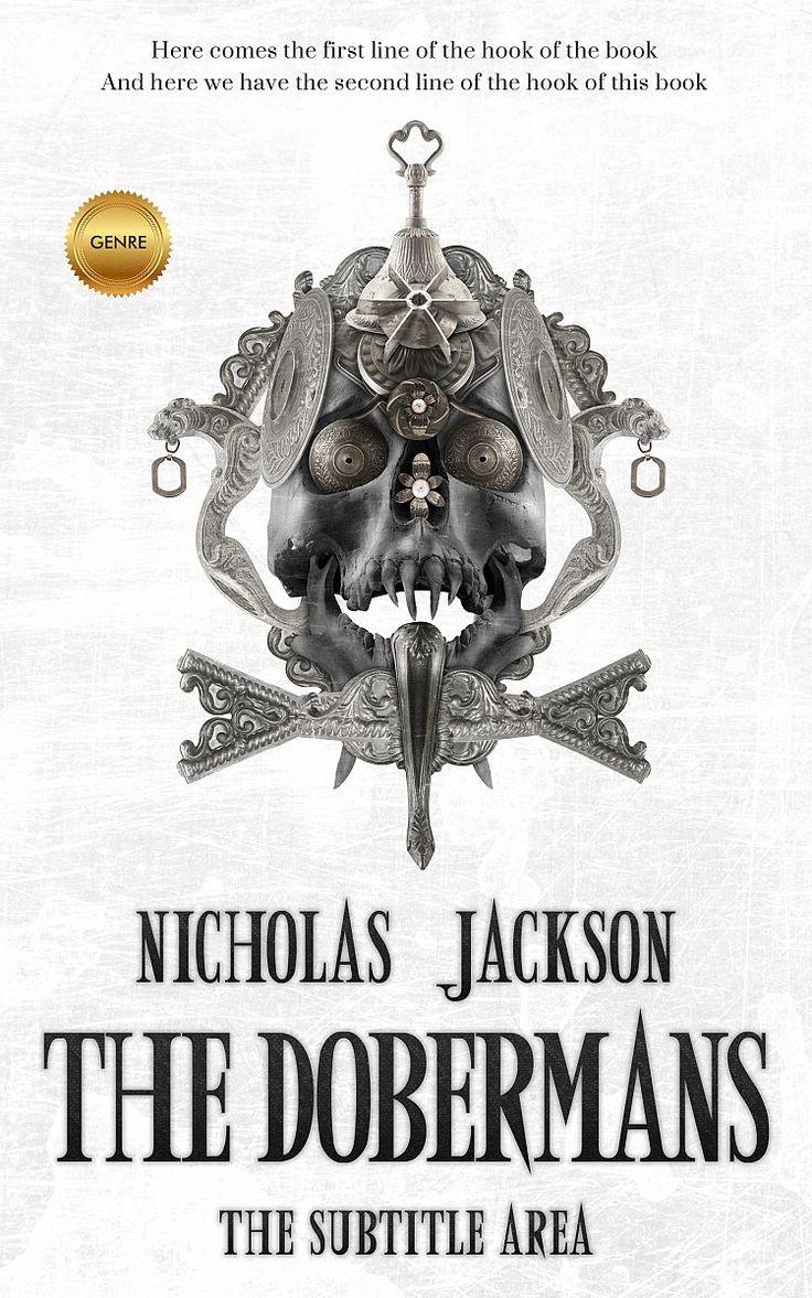 Tuatara New fiction, horror premade book cover.: Tuatara New fiction, horror premade book cover. #Adornment #Ancient #Armor #premade…