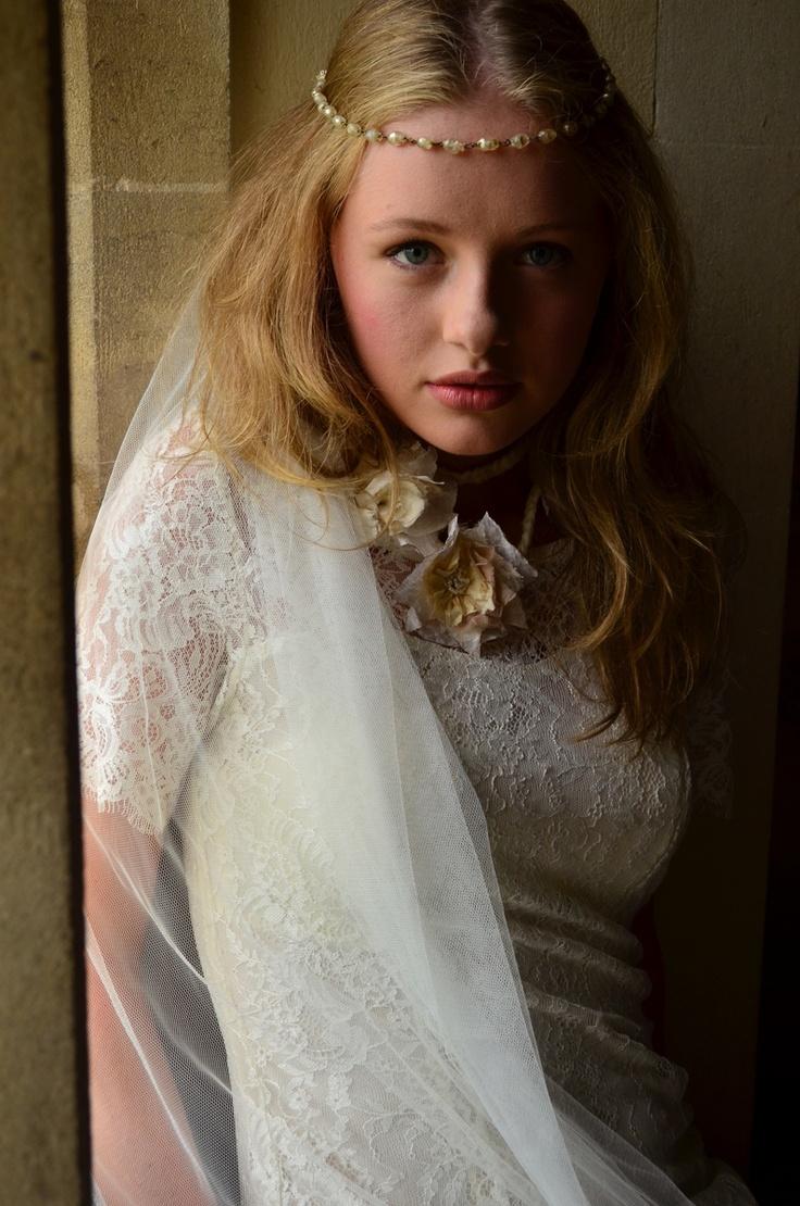 Monica veil #veils #brides #weddings #minna