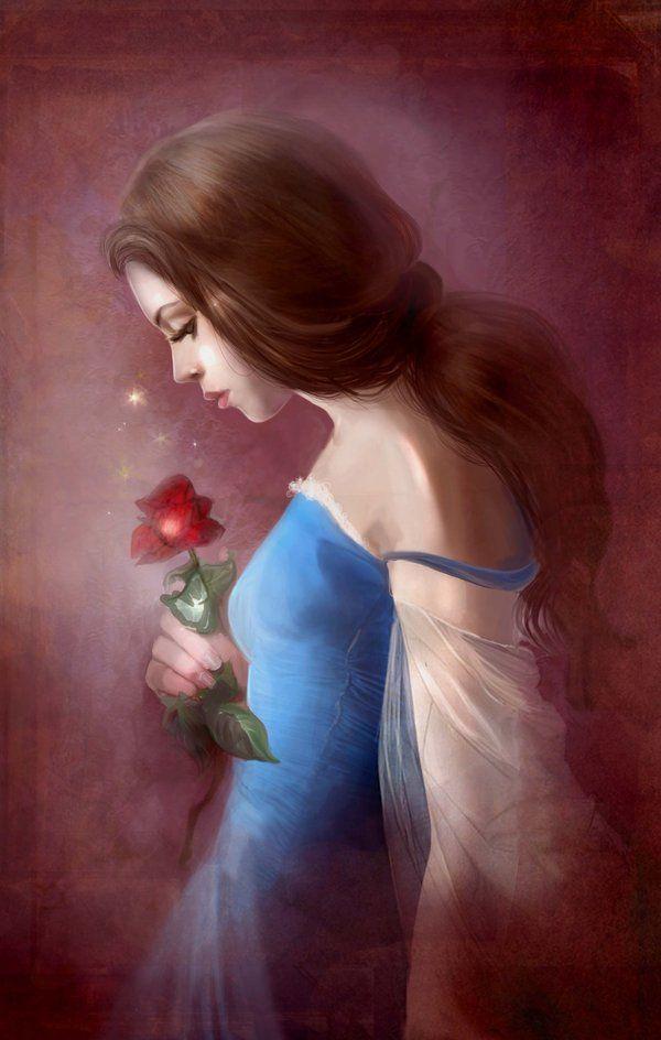 Belle. favorite princess