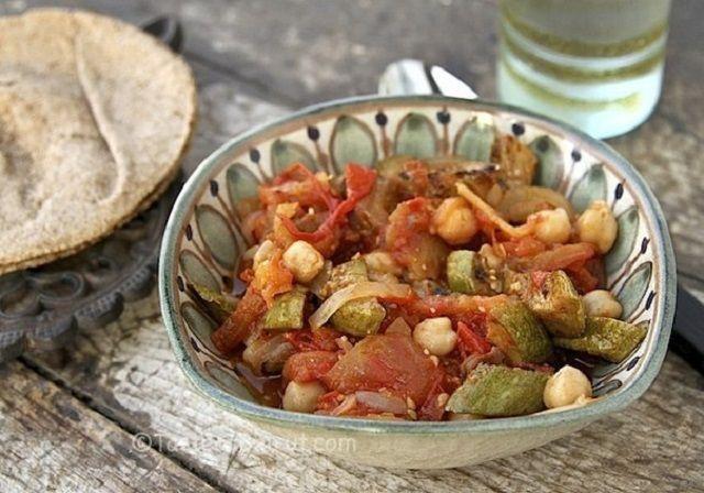 Moussaka with zucchini