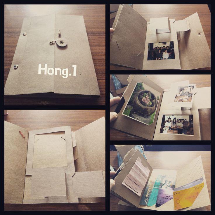 Diy Pop-up scrapbook Made by hong