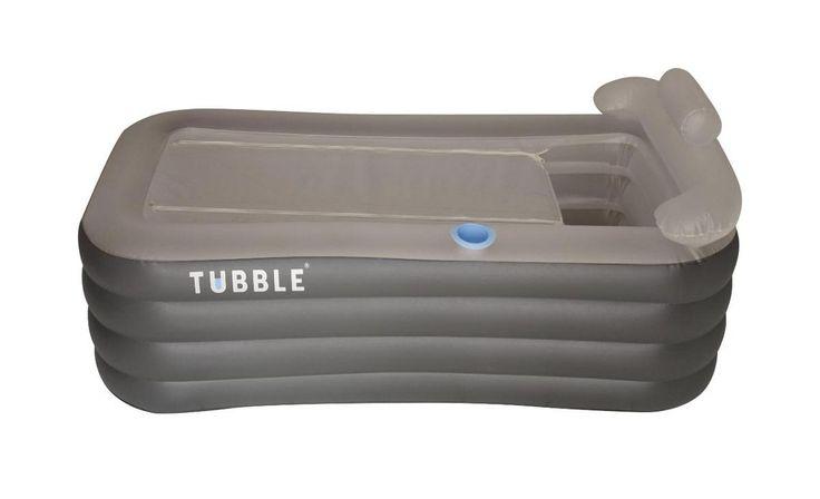 Tubble compactis kleiner dan het Tubble Royale. Maten kunt u hier vinden