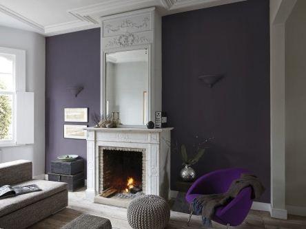 25 beste idee n over slaapkamer kleuren paars op pinterest slaapkamer kleuren schema 39 s - Donkergrijze verf ...